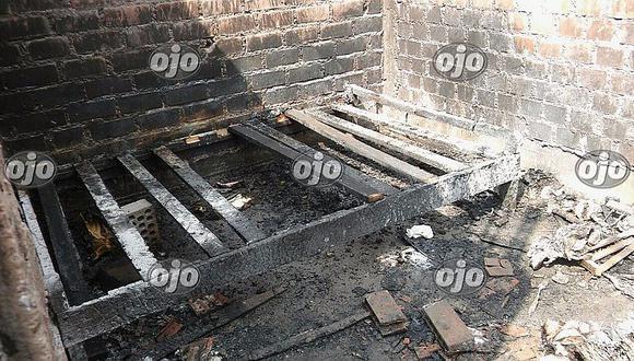 San Martín de Porres: niña de tres años murió calcinada en incendio