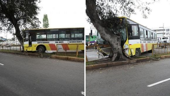 Dos accidentes generaron congestión vehicular en la avenida Brasil | VIDEO