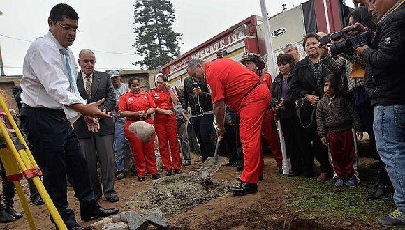 Surco: construyen nueva estación de bomberos para atender a más de 60 mil