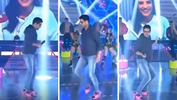 Gian Piero Díaz sorprende al bailar en tacos