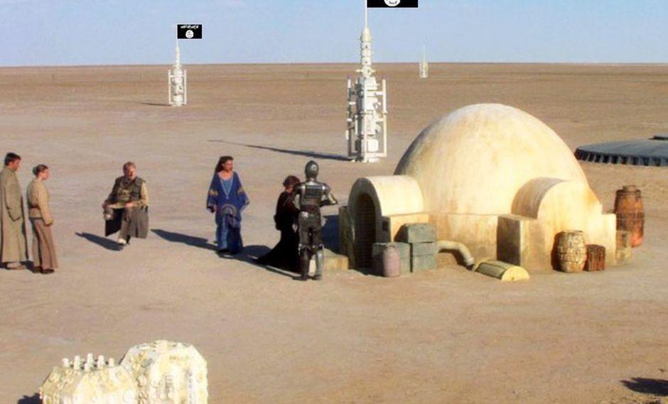 """Yihadistas toman el planeta """"Tataouine"""" de Star Wars"""
