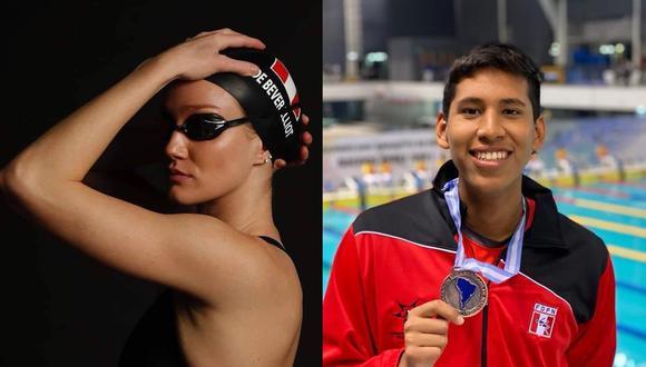 McKenna DeBever y Joaquín Vargas representarán al Perú en la disciplina de natación en Tokio 2020. (Foto: Instagram)