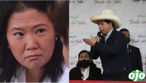"Keiko Fujimori contra Pedro Castillo: ""un presidente ausente, a un fantasma"""