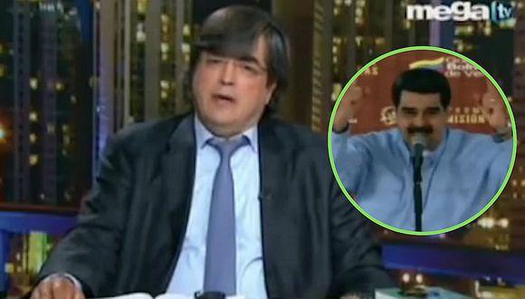 """Nicolás Maduro insulta a Jaime Bayly y este le responde: """"Eres un andrajo del honor"""" (VIDEO)"""
