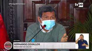 """Hernando Cevallos: """"Los casos Delta siguen creciendo, ya llegan a 61 % de prevalencia de los casos de Covid-19″"""