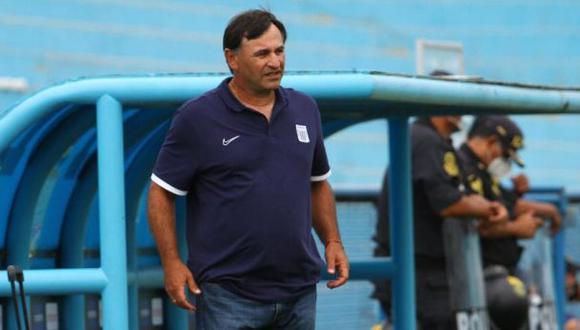 Carlos Bustos no dirigirá a Alianza Lima ante Ayacucho FC. (Foto: Alianza Lima)