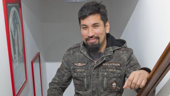 """Aldo Miyashiro aparece en """"La banda del chino"""" y agradece muestra de cariño tras accidente automovilístico. (Foto: Allen Quintana / GEC)"""