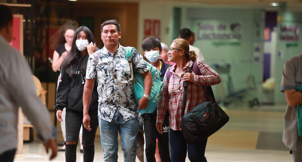 LIMA 06 DE MARZO DEL 2020. Recorrido por el hHosp. Rebagliati y el Aeropuerto Internacional Jorge Chávez. Prevención por caso de coronavirus en el Perú. FOTO LINO CHIPANA / GEC