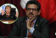 """Merino cuestionó informe Michelle Bachelet sobre represión policial en las marchas porque """"es chilena"""""""