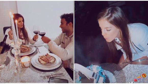 Said Palao y la tierna sorpresa que le hizo a Alejandra Baigorria por su cumpleaños