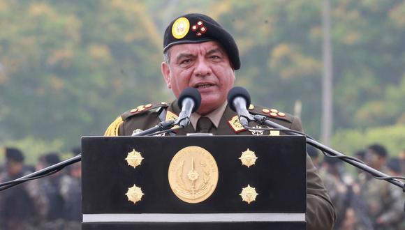 El general EP César Astudillo es el jefe del Comando Conjunto de las FF.AA. (Foto: Andina)