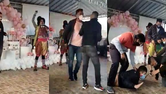 'Kissyfur' fue detenido en pleno baby shower.