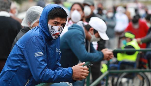 La cifra de contagios por COVID-19 ascendió en el Perú. (Foto: Lino Chipana/GEC)