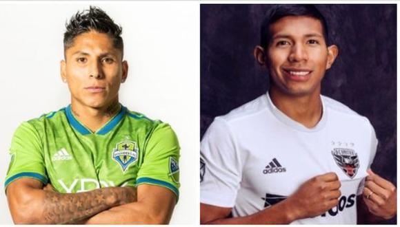 Raúl Ruidíaz y Edison Flores debutaron en la Primera División en Universitario de Deportes. (Foto: Sounders FC / DC United)
