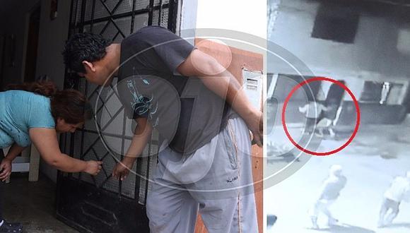 Barristas disparan a estudiante en la puerta de su casa