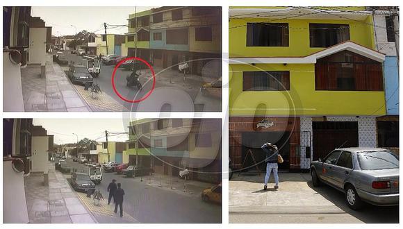 Chorrillos: hieren a chofer de combi en asalto a caseta de ventas de departamentos (VIDEO)