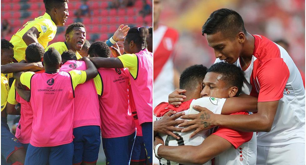 Selección peruana sub-20 se pierde penal y cae por 3-1 ante Ecuador