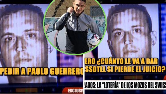 Paolo Guerrero: audio revela que mozo del Swissotel recibió oferta de dinero│VIDEO