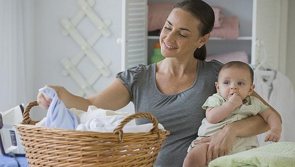 ¿Cómo se debe lavar la ropa de los bebés? Siete consejos para los papis