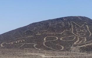 Arqueólogos descubren nuevo geoglifo en la Pampa de Nasca