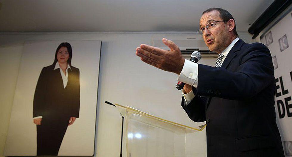 José Chlimper: Keiko Fujimori y Joaquín Ramírez no están investigados por la DEA