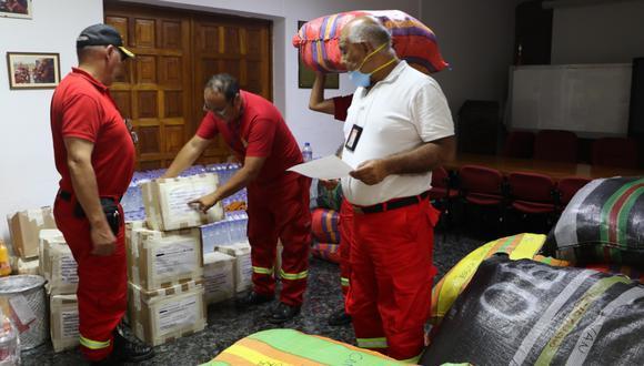 El envío de los nuevos lotes tiene como finalidad fortalecer al servicio público de bomberos en las regiones del país