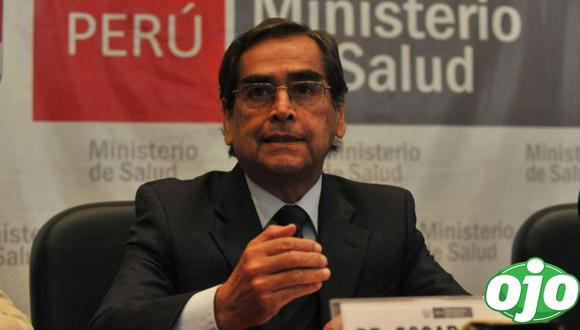 El ministro de Salud, Óscar Ugarte, brindó detalles sobre la evolución del COVID-19 en la segunda ola. (GEC)