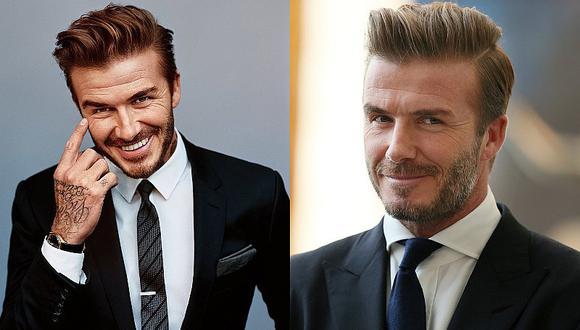 David Beckham se robó la atención con acertado atuendo en la boda real