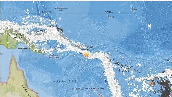 Alerta de tsunami tras terremoto de 8 grados en Islas Salomón