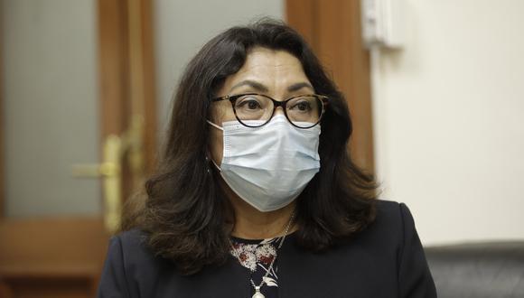 Violeta Bermúdez dijo que Francisco Sagasti y su gobierno solo pagaron las órdenes que fueron previas a su mandato. (Foto: GEC)
