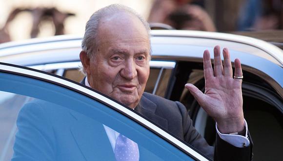 Juan Carlos de Borbón, de 81 años, es padre del actual monarca, Felipe VI. (Archivo/AFP)