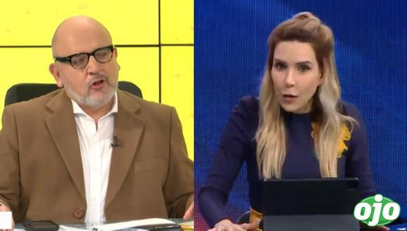 Juliana Oxenford y Beto Ortiz en pie de guerra por Pedro Castillo    Captura: Willax   ATV