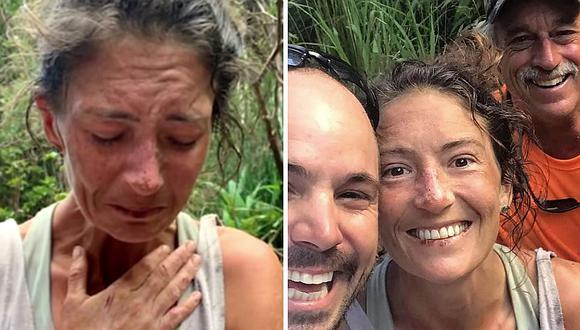 El dramático testimonio de una mujer que cayó a un acantilado y estuvo 17 días desaparecida