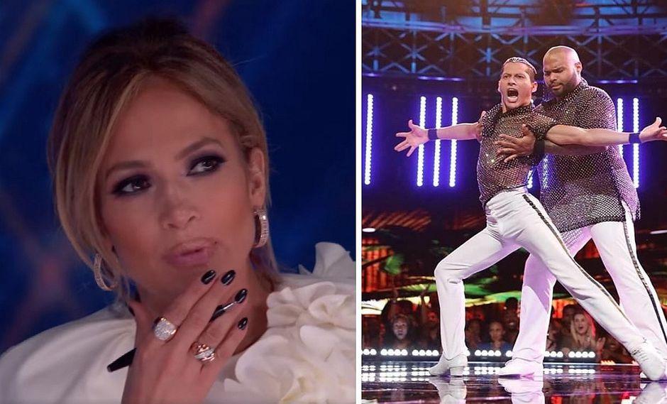 Bailarín peruano asombra a Jennifer López en reality show (VIDEO)