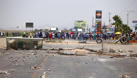 Ica: El Minsa informó que los establecimientos de salud a nivel nacional se encuentran en alerta roja (Foto: Hugo Curotto / @photo.gec)