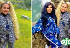 Josetty Hurtado viaja a Machu Picchu y sorprende al lucir lujoso buzo Christian Dior