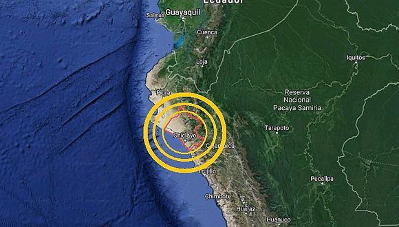 Lambayeque: sismo de magnitud 3.9 se sintió esta madrugada en Olmos