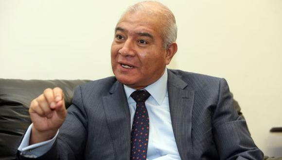Wilfredo Pedraza fue abogado de Nadine Heredia y ahora será precandidato del nacionalismo en sus elecciones internas. (Foto: Rolly Reyna / GEC)