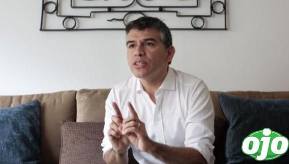 """Julio Guzmán calificó como una """"irresponsabilidad"""" que Yonhy Lescano proponga pedir el monitor Huáscar a Chile. (Foto: GEC)"""