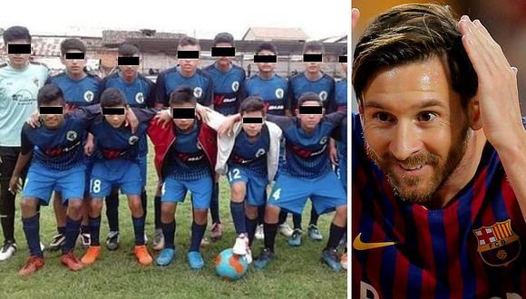 El conmovedor pedido de niños futbolistas que sobrevivieron a accidente mortal a Lionel Messi