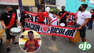 Lapadula: Hinchas celebran convocatoria en casa de la familia del delantero en Chorrillos