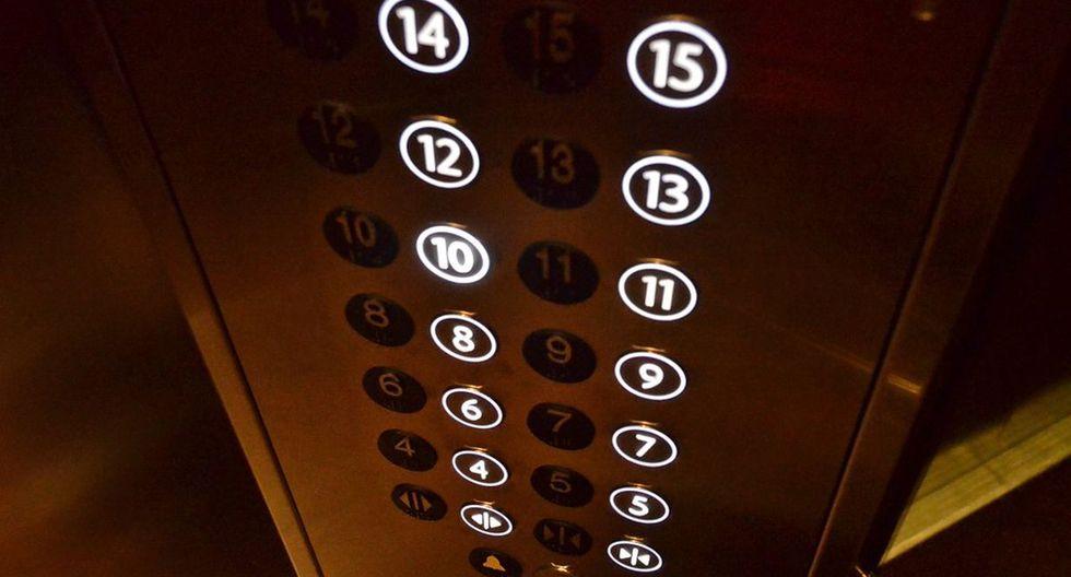 Los ascensores son espacios públicos que son utilizados por gran cantidad de gente, convirtiéndose en un foco de gérmenes (Foto: Pixabay)