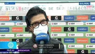 """Comizzo explotó tras empate de la 'U': """"No soy llorón. No ando llorando si me faltan jugadores"""""""