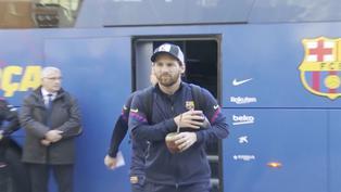 Lionel Messi dice adiós al Barcelona de España