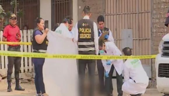 El vigilante fue trasladado a la comisaría. (Foto: Captura/América Noticias)