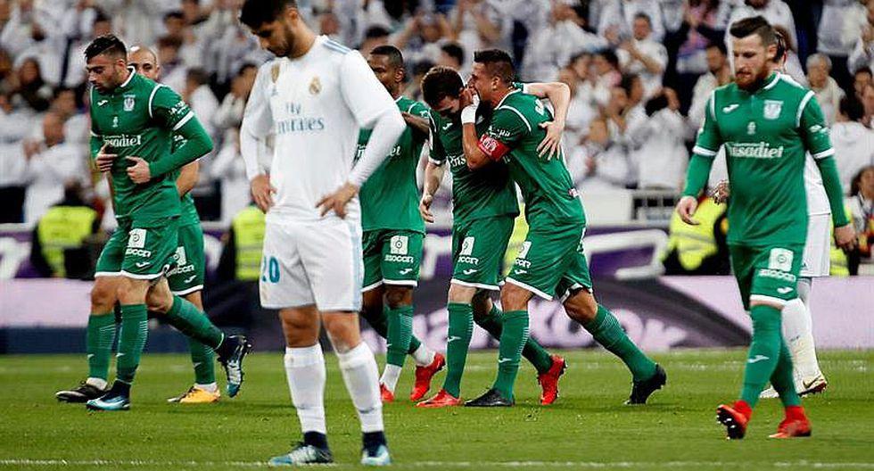 Real Madrid es humillado en la Copa del Rey al ser eliminado por Leganés