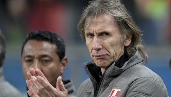 Ricardo Gareca habló de los actos de indisciplina en el fútbol peruano. (Foto: AFP)