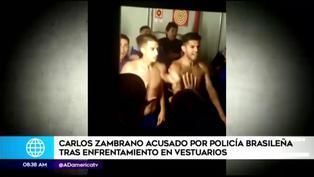 Copa Libertadores 2021: Carlos Zambrano detenido por agredir a policías brasileños