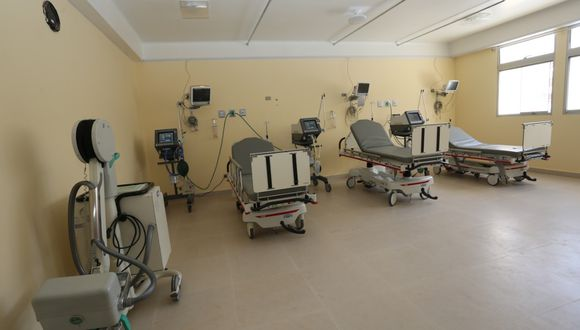 Cajamarca. Área de UCI del Hospital Regional Docente para pacientes Covid-19 ahora cuenta con 4 ventiladores. (Gobierno Regional de Cajamarca)