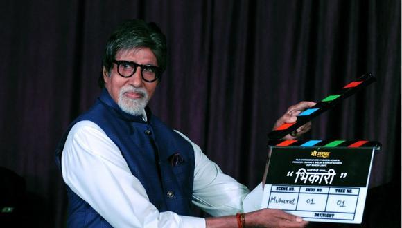 """Amitabh Bachchan fue dado de alta del hospital tres semanas después de haber ingresado con síntomas """"leves"""" de coronavirus. (Foto: AFP)"""